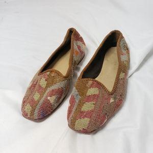SALE🏃♀️ Artemis Design Co. Kilim smoking Loafers